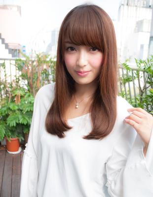 前髪可愛いストレート(yo-51)