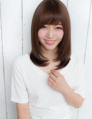 前髪が可愛いストレート(yo-53)